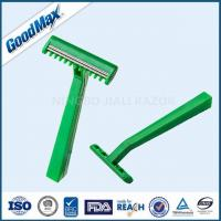 Extremely Sharp Medical Razor Disposable Single Blade Medical Razor Green Color Manufactures