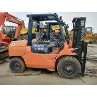 2011 Year Used Diesel Forklift Truck Toyota FD50 With 6m Lifting Height Manufactures