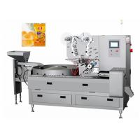 China Automatic Small Hard Or Soft Candy Pillow Packaging Machine Capacity 800 Grains / Min on sale