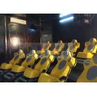 Interaction Reality 7D Movie Theater With Yellow Motion Seats Manufactures