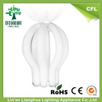 Halogen CFL Raw Material T5 4u / 5u Lotus Compact Fluorescent Lamp Tube Manufactures