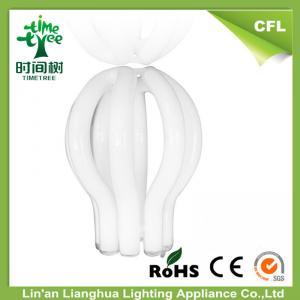 Halogen CFL Raw Material T5 4u / 5u Lotus Compact Fluorescent Lamp Tube Manufactures