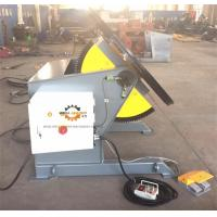 Tilting Rotary Welding Positioner With Slew Bearing 1200KG Loading 1200mm Table Manufactures