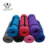Full Thick Non Slip Workout Mat , Fitness NBR Yoga Mat With High Density Manufactures