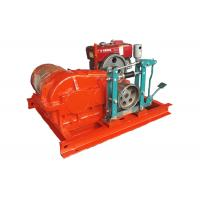 Mining / Construction Use Electric Winch , Cable Pulling Electric Drum Winch Manufactures