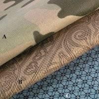 Printed Cotton Corduroy Fabric