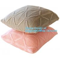 100% Polyester Upholstery Fabric European Luxury Crushed Velvet Cushion Cover Manufactures