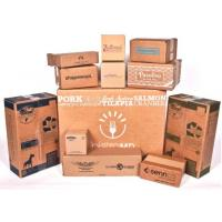 China Professional Custom Printed Corrugated Boxes , Colored Corrugated Mailing Boxes on sale