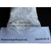 Stanozolol Pharmaceutical Raw Materials CAS 10418-03-8 Safe Steroids For Bodybuilding Manufactures