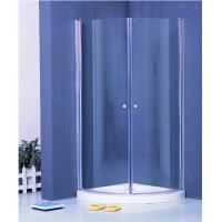 Colorful Pivot Shower Enclosure With Shower Tray , Glass Round Corner Shower Units Manufactures