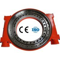50Mn 42CrMo china dual axis slew drive supplier For Solar Tracker / Wind Turbine Manufactures