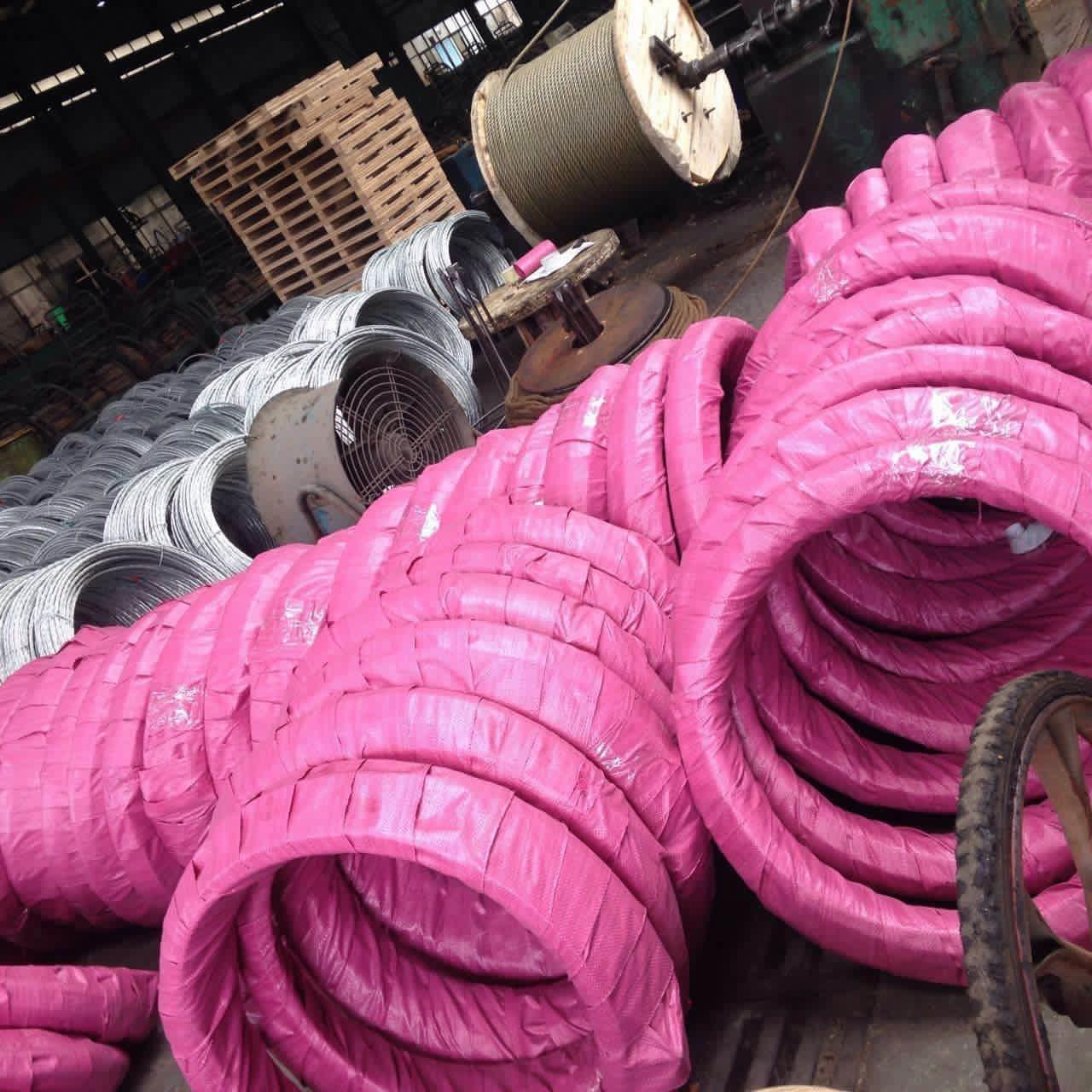 Zinc - Coated Galvanized Steel Core Wire For Aluminum Conductors / Steel Reinforced Manufactures