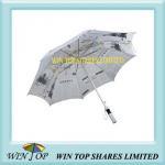 Straight Aluminum Advertisement Paper Umbrella(WT5063) Manufactures
