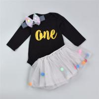 Newborn Baby Girl Clothing Sets For Gift , 0 - 9m Cotton Baby Cloth Set Manufactures