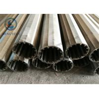 Stainless Steel Wedge Wire V Wire Johnson Screen 40mm O.D Screen Pipe Manufactures