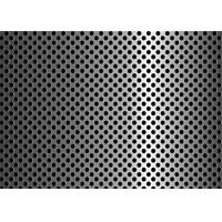 Anti Aging Steel Plate Perforated Metal Mesh For Filter 3mm - 200mm Aperture Manufactures