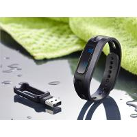 Pedometer Sleep Tracker Bluetooth Watch Bracelet With Silicon Wristband Manufactures