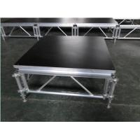 6082-T6 Aluminum Movable Stage Platform / 1.22 X 1.22m Outdoor Portable Stage Manufactures