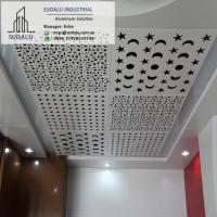 SUDALU Foshan Laser Cut Aluminum Solid Panel for Ceiling Customized Suspended Perforated Ceiling Panels Manufactures