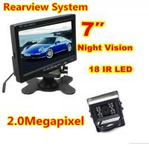 China 2.0 Megapixel Car Reversing Camera System , Metal Case Box Truck Reversing Camera on sale