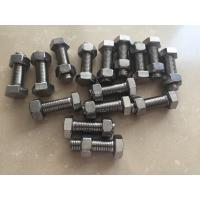 China DIN933 DIN931 Stainless Steel 321 Hex Bolt Fasteners ASTM A193 GR.B8T on sale