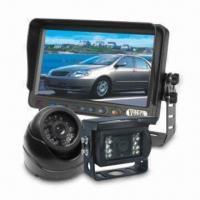 Coach CCTV Camera System with 7-inch TFT LCD Monitor, Built-in Day and Night Sensor Manufactures