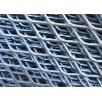 China Anti Slipping Expanded Metal Mesh Low Carbon Steel Material 4.5mm - 100mm LWM for sale