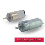 Smart Robot Micro Metal Gearmotor / 16mm Small Brushed DC Motor 3v 6v 12v Manufactures