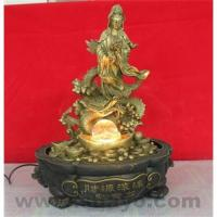 Guanyin bonsai fountain tabletop