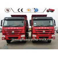 Euro 2 Sinotruk HOWO 6*4 Heavy Dump Truck 290HP 336HP 371HP For Construction Manufactures