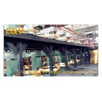 17 mm Brass Rod Continuous Upcaster Line Brass Casting Equipment 400KW AC 380V Manufactures