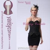 office lady black sexy corset sexy photos fat women fashion corsets Manufactures