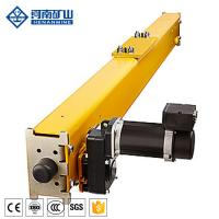 China Bridge Overhead Crane Spare Parts High Performance End Beam / End Carriage on sale