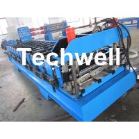China TW-18-271.7-814 Roof Panel Profile Sheet Roll Forming Machine With 14 Forming Stations on sale