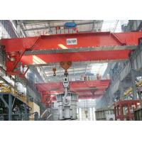 50T Cabin Controlled Overhead Bridge Crane For Metallurgical / Foundry Manufactures