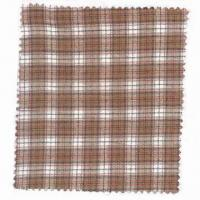 100% cotton yarn-dyed flannel, 142gsm Manufactures
