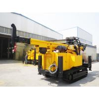 Crawler Hydraulic Engine Drived Rock Drilling Rig , Mining Reverse Circulation Drilling Rig Manufactures