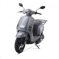 Grey Color Stylish Electric Cargo Scooter , High Speed E Mobility Scooter Disc Brake Manufactures
