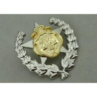 Army Zinc Alloy Custom Medal Awards 2 Pcs Combined With Double Tones Plating Manufactures