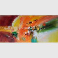 Decorative Hand - Painted Palette Knife Painting Acrylic, Modern Landscape Painting Manufactures