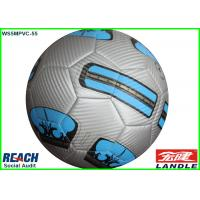 Laser PVC Machine Stitched Football Soccer Ball 32 Panels With Custom Printing Manufactures