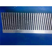 6063 - T5  Extruded Aluminum Heatsink Anodized Surface Infinite Length Manufactures