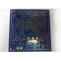 Durable Mulilayer HDI Printed Circuit Boards HASL Blue Solder Mask White Silkscreen Manufactures