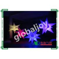 Buy cheap 16 colors inflatable star with RGB led light / Party ceiling decoration / inflatable hanging star /  wedding decoration from wholesalers