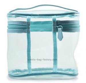 Multi-functional Transparent PVC Cosmetic Bag Makeup Storage Bag Clear Vinyl Toiletry Bag Manufactures