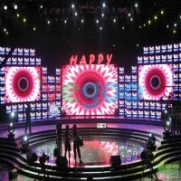 High Brightness 3.91mm Stage LED Screens With ROHS / FCC 1000cd/㎡ Manufactures