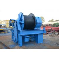 China Large Traction Industrial Electric Winch Compact Structure For Construction on sale