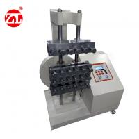 Specimen Fatigue Rubber Testing Machine For Dumbbell Shaped Specimen ASTM D4482 Manufactures
