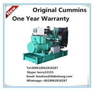 China 30KW Cummins diesel generator set with Stamford alternator on sale