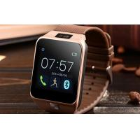 Multi - Language Bluetooth Version 3.0 Wrist Cell Phone Smart Watch With Sim Card Manufactures